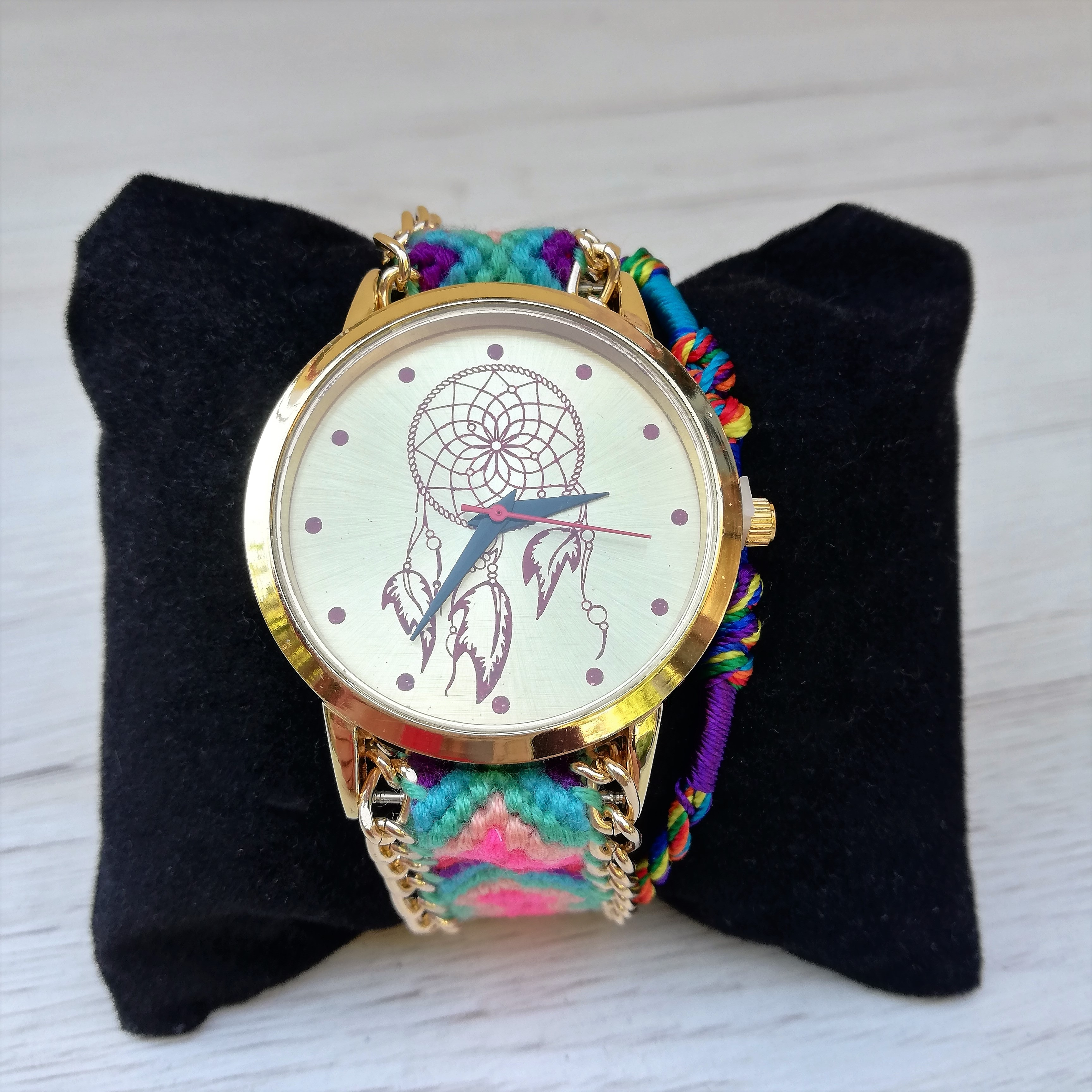 Ceas Dreamcatcher Rainbow 1