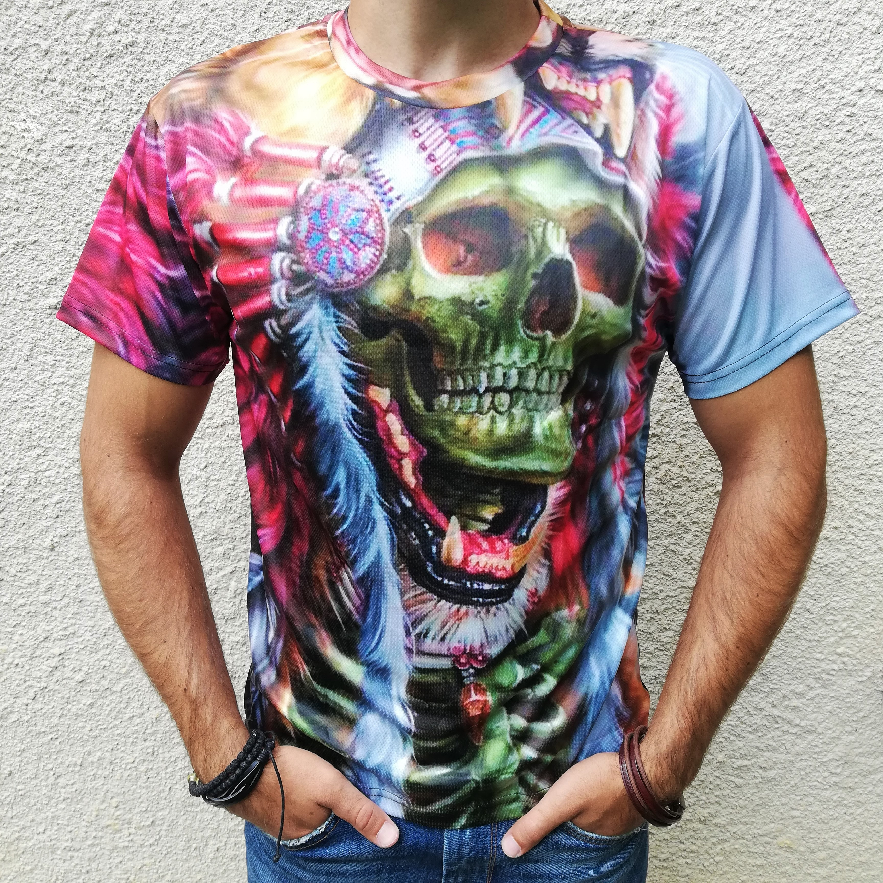 Tricou 3D Skull Chieftain 0