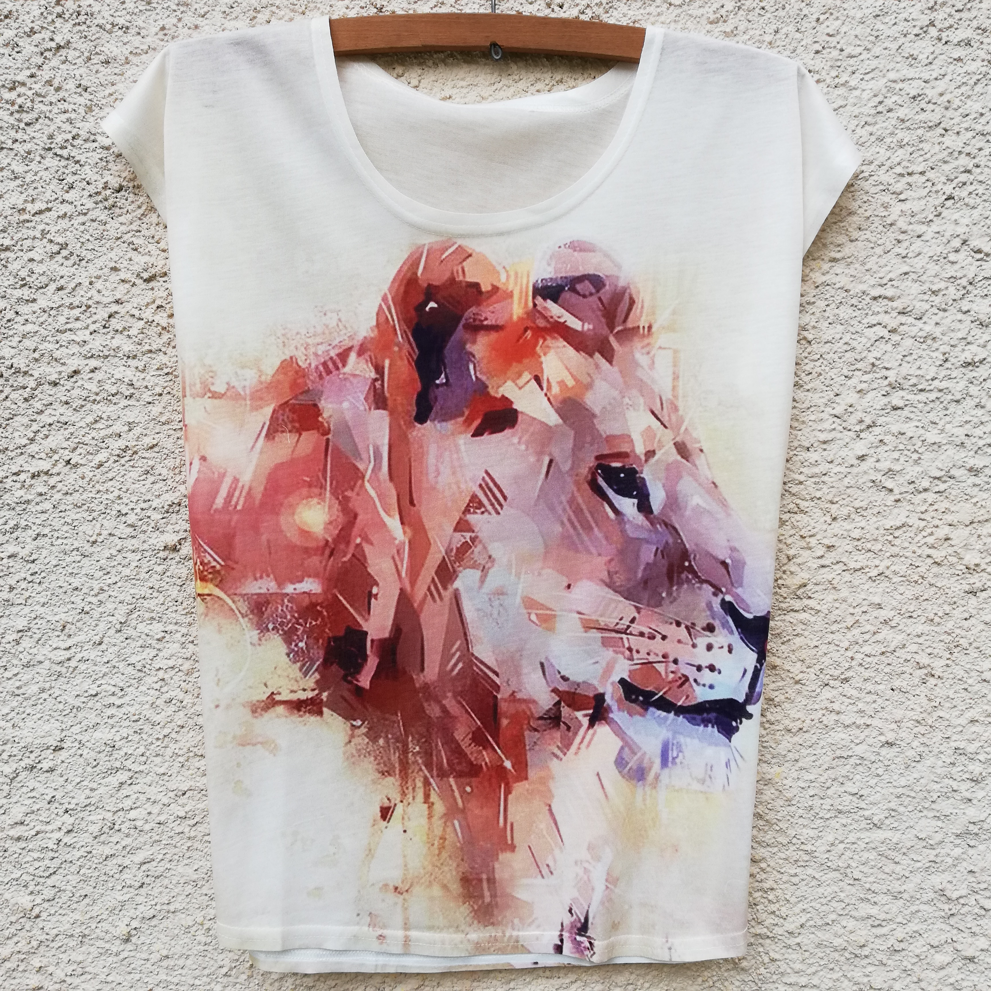 Tricou Retro Lion 0