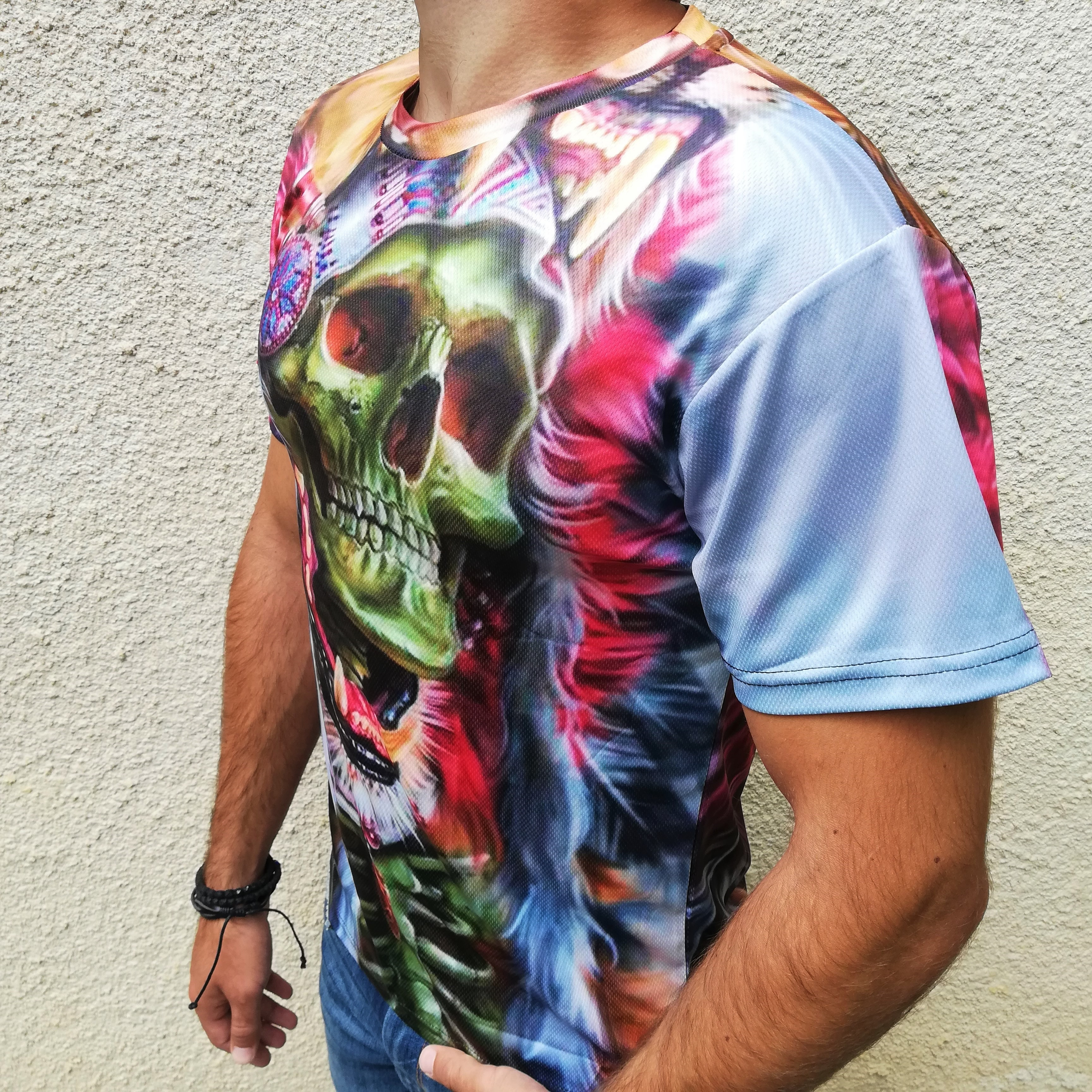 Tricou 3D Skull Chieftain 2